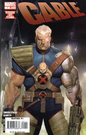 Cable #1 (2008) Marvel comic book
